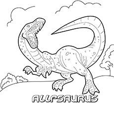 35 Unique Dinosaur Coloring Pages Your Toddler Will Love Dibujo