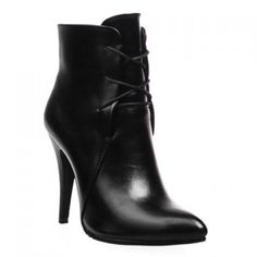 Stylish Solid Colour and Pointed Toe Design High Heel Boots For Women Womens High Heel Boots, Heel Boots For Women, Heeled Boots, Bootie Boots, Shoe Boots, Toe Shoes, Women's Booties, Black Booties, Botines Peep Toe