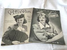 1940's Vintage Hat & Purse Making Magazine Lot.