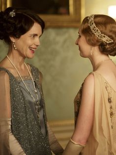 Lady Cora, we were meant to be best friends. Except that you aren't a real person. Durn.