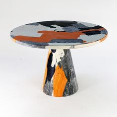 "repeat-norepeat: "" ""Melting Pot"" table designed by Dirk Vander Kooij. Design Furniture, Luxury Furniture, Furniture Decor, Futuristic Furniture, Italian Furniture, Funky Furniture, Painting Furniture, Contemporary Furniture, Furniture Dining Table"