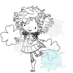 Good Luck Chloe   Digital Stamps   Tiddly Inks