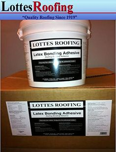 3 pails, 1 gallon each of ROOFING Latex Bonding Adhesive * Read more reviews of the product by visiting the link on the image.