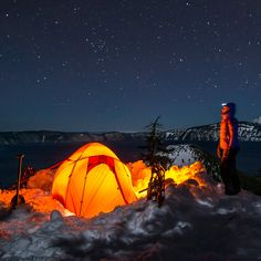 Could you spend the night camping in the snow and ice at -10Cº? Kathmandu did! #EmbraceTheCold