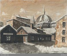 Tror dette er nr 1 midt i bildet - ca 1900 Norway, Museum, Painting, Art, Art Background, Painting Art, Kunst, Paintings, Performing Arts