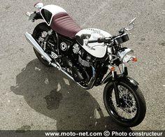 Nouveauté moto 2015 : Triumph dévoile la Thruxton Ace
