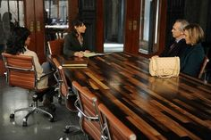 Scandal table - I feel a project in Steph's future.