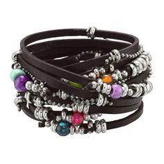 Uno de 50 - Got this for my b-day and I am in love with it... Estilo Navajo, Leather Jewelry, Diy Leather Bracelet, Silver Jewelry, Cuff Bracelets, Jewelry Crafts, Jewelry Box, Jewelery, Jewelry Accessories