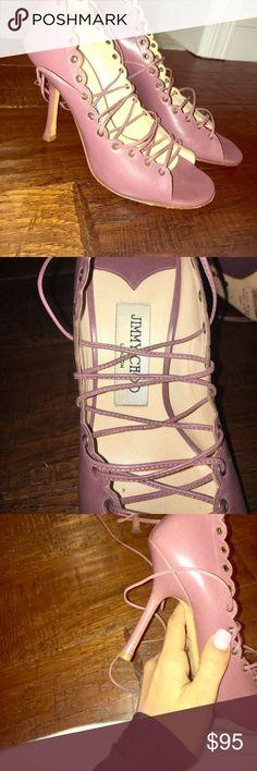 Jimmy Choo Authentic Heels Jimmy Choo's Slightly Worn Jimmy Choo Shoes Heels