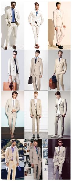 Men's Fashion - The New Spring/Summer Power Suits