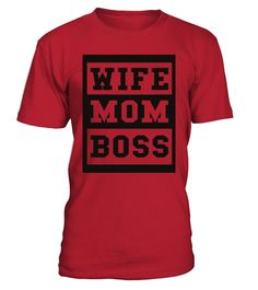 Wife Mom Boss Mother S Day Family Thanksgiving Birthday Christmas Gifts For Boyfriend
