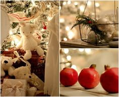 Red and White Christmas Decoration
