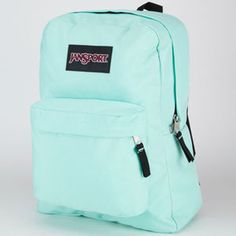 Jansport Black Label Superbreak Backpack Mint To Be Green One Size For Men 21553152301 from Tilly's. Saved to Epic Wishlist. Mochila Jansport, Sac Jansport, Puppy Backpack, Backpack Purse, Hiking Backpack, Cute Backpacks For School, Girl Backpacks, Leather Backpacks, Outfits