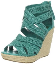 Amazon.com: DV by Dolce Vita Women's Tulle Wedge Sandal: Shoes