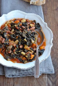 Italian food - Ribollita. The most amazing soup ever.