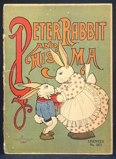 Peter Rabbit and his Ma, 1917