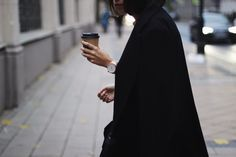 Coffee to go. Lights and style. Details. Photographer in Moscow