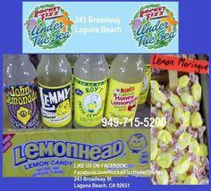 When life hands you lemons.....  LIKE US ON FACEBOOK: Facebook.com/RocketFizzUnderTheSea Visit us: 243 Broadway Street Laguna Beach, CA 92651 949-715-5200