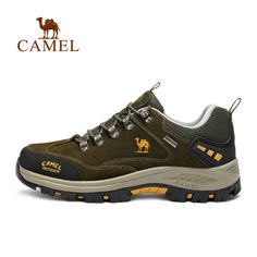the best attitude c0072 48b45 CAMEL Brand popular Outdoor Sports Hiking Shoes For Men Waterproof  Anti-skid Climbing Fishing Camping