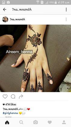 Kashee's Mehndi Designs, Modern Henna Designs, Floral Henna Designs, Mehndi Design Photos, Mehndi Designs For Fingers, Mehndi Patterns, Latest Mehndi Designs, Henna Tattoo Designs, Mehndi Images