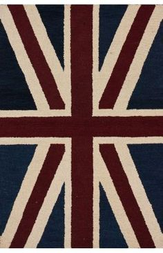 Rugs USA Santa Ana Union Jack Denim Rug now 75% off