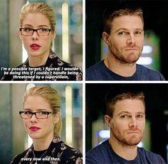 #Arrow - Oliver & Felicity #Olicity #Season4 #4x06
