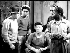 'NEATH BROOKLYN BRIDGE (1942) -- Leo Gorcey, Huntz Hall, East Side Kids, Dave O'Brien - YouTube