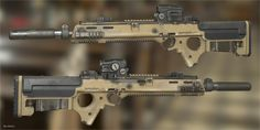 ArtStation - Grizzly rifle, Ben Bolton