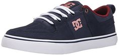 DC Womens Lynx Vulc Lace Up Skate Shoe NavyGold 10 M US * Check this awesome product by going to the link at the image. This is an Amazon Affiliate links.
