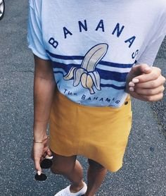 Skirts and tshirts will always be a fave
