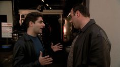 The Sopranos: Season Episode 7 Second Opinion Apr. Christopher Moltisanti, Tony Soprano, Bada Bing, Face Expressions, Season 3, Collections, Fictional Characters, Inspiration, Art
