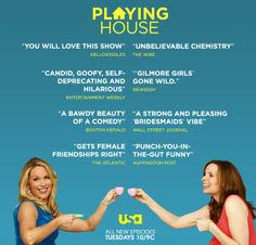 Tell your friends! The reviews are in! And people like it! They really like it! #playinghouseusa
