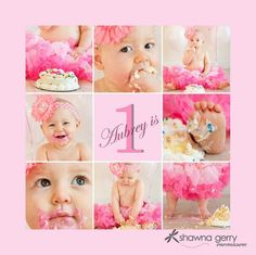 Cake smash collage by valarie