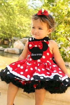 Minnie Bow Dress - possible baby outfit