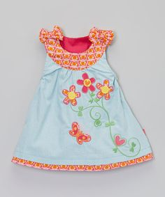 Look at this Me Too Azalea Pink Kitte Dress - Infant on #zulily today!