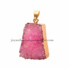 dije de fantasia de piedra colores por mayor para mujeres -ACPTG73006