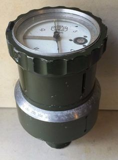 Vintage Collectible Army Bulgarian Communist Compass For Large Military Vehicle
