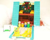 Vintage Fisher Price A-Frame House.