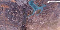 Seeing a Drone Zoom Down the Burj Khalifa Feels Like Free Falling
