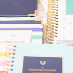   Styled & Photographed by: Bri Ramos, www.thebuzzbrand.com    They're here! New EMILY LEY PLANNERS!! Aug 2015 - July 2016, $58, 3 cover designs, fancy new tabs & great new features. Lighter weight, too! Online shortly. #EmilyLey #planners #SimplifiedPlanner #organize #declutter #simplify #rejoice