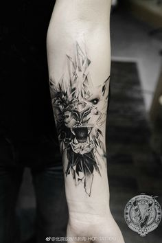 lion tattoo Maori Tattoos, Lion Head Tattoos, Creepy Tattoos, Baby Tattoos, Badass Tattoos, Great Tattoos, Forearm Tattoos, Body Art Tattoos, Tattoos For Guys