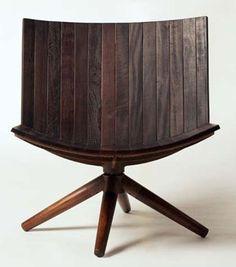 Carlos Motta. Such a cool chair!
