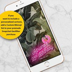 Snapchat Geofilter Birthday Wedding Snapchat Filter 30th