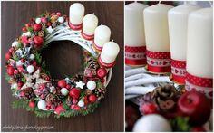 навлизане венец венец вземане на венец Christmas Advent Wreath, Christmas Table Decorations, Christmas Time, Christmas Crafts, Merry Christmas, Xmas, Holiday Decor, Advent Candles, Candle Centerpieces