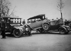 When and Where Was the First Car Accident?