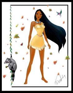 Pocahontas by TheSwanMaideN.deviantart.com on @DeviantArt