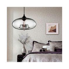 ペンダントライト ガラス製照明 天井照明 玄関照明 インテリア照明 1灯 D28cm