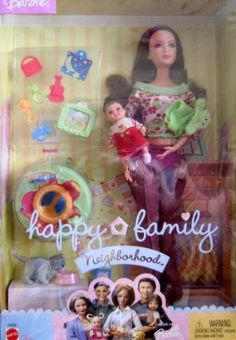1000 Images About Happy Family Barbies On Pinterest