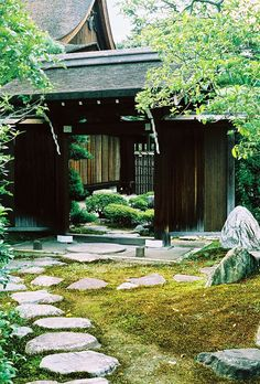 1000 images about japanese entrnce on pinterest for Japanese garden entrance