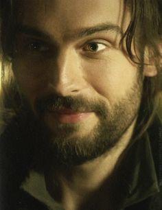 "Tom Mison as Ichabod Crane from the TV Show ""Sleepy Hollow""."